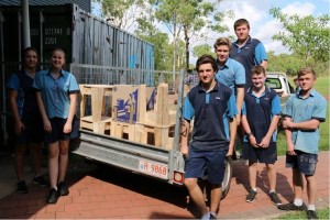 Pallet furniture send off